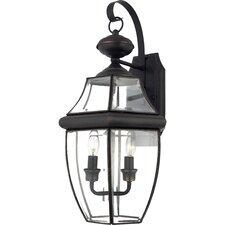 2 Light Wall Lantern