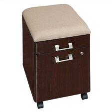 Quantum 2-Drawer Vertical File with Cushion