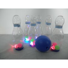 Bowling Game with Colorful Light