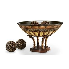 Bahama Decorative Bowl with Spheres
