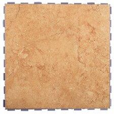 """Classic Standard 12"""" x 12"""" Porcelain Field Tile in Mocha"""
