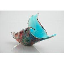 Glass Shell Sculpture