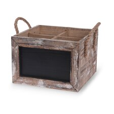 Wine Carrier Chalkboard Box