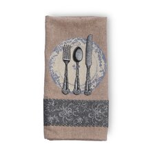 Place Setting Kitchen Towel