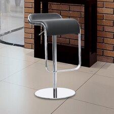Lem Adjustable Height Swivel Bar Stool with Cushion