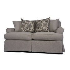 Horizon Slipcovered Loveseat