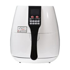 1400 W Fat Free Rapid Healthier Electric Air Fryer with LCD 7 Modes Grill Oven
