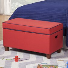 Storage Bench in Red