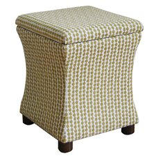 Fey Upholstered Storage Cube Ottoman