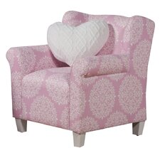 Pink Juvenile Club Chair