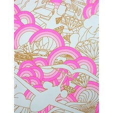 """Luxury 15' x 27"""" Abstract Wallpaper (Set of 3)"""