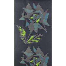 """Zelda 15' x 27"""" Floral and Botanical Wallpaper (Set of 3)"""