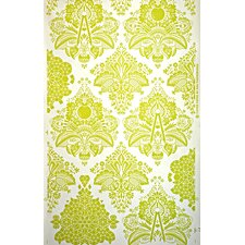 "Fruits of Design 15' x 27"" Damask Wallpaper (Set of 3)"