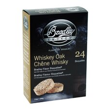 Whiskey Oak Flavor Bisquettes (Set of 24)