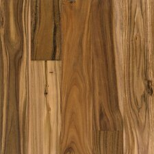 "Rustic Accents 4-18/25"" Engineered Exotic Hardwood Flooring in Natural"