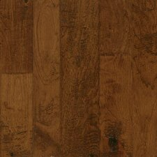 Artesian Random Width Engineered Hickory Hardwood Flooring in Cinnabar Blush