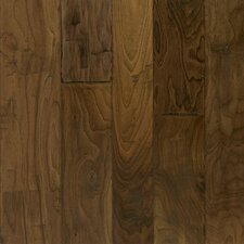 Artesian Random Width Engineered Walnut Hardwood Flooring in Whisper Brown