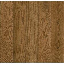 """Prime Harvest 5"""" Solid Oak Hardwood Flooring in Warm Caramel"""