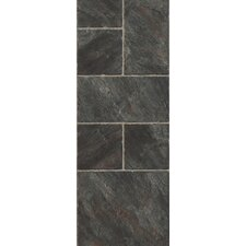 "Castilian Block 16"" x 48"" x 8mm Tile Laminate in Pizarro"