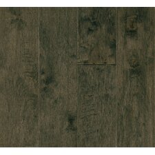 "Rural Living 5"" Engineered Maple Hardwood Flooring in Silver Shade"