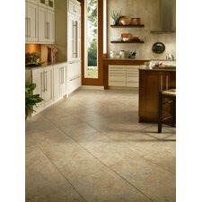 "Alterna Durango 16"" x 16"" Luxury Vinyl Tile in Buff"