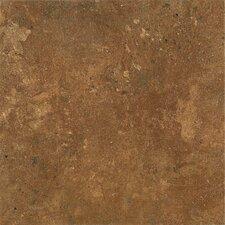 "Alterna Aztec Trail 16"" x 16"" x 4.06mm Luxury Vinyl Tile in Terracotta"
