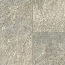 "Alterna Reserve Cuarzo 16"" x 16"" x 4.06mm Luxury Vinyl Tile in Pearl Gray"