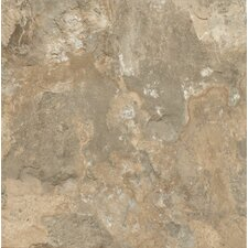 "Alterna Mesa Stone 16"" x 16"" Luxury Vinyl Tile in Beige (Set of 14)"