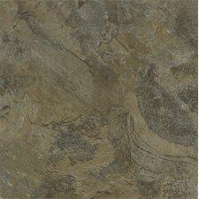"Alterna Mesa Stone 16"" x 16"" Luxury Vinyl Tile in Moss"