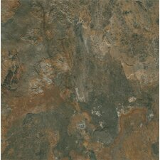 "Alterna Mesa Stone 16"" x 16"" Luxury Vinyl Tile in Canyon Shadow"