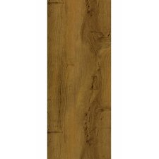 "Luxe Peruvian Walnut 6"" x 48"" x 3.56mm Luxury Vinyl Plank in Mayan Gold"