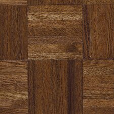 "Urethane Parquet 12"" Solid Oak Parquet Hardwood Flooring in Windsor"