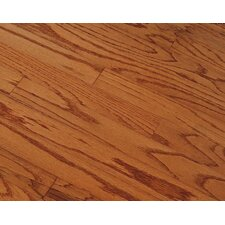 "Springdale Plank 3"" Engineered Oak Hardwood Flooring in Gunstock"