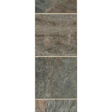 "GardenStone 12"" x 48"" x  8mm Tile Laminate in Silver Sage"