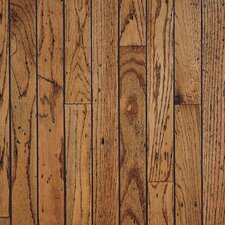 "Trumbull Strip 2-1/4"" Solid Oak Hardwood Flooring in Honey"