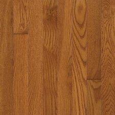 Waltham Plank Random Width Solid Oak Hardwood Flooring in Brass