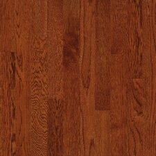 "Waltham Strip 2-1/4"" Solid Oak Flooring in Whiskey"