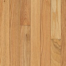 "Waltham Strip 2-1/4"" Solid Oak Hardwood Flooring in Country Natural"