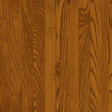 "Dundee 2-1/4"" Solid Red / White Oak Hardwood Flooring in Gunstock"