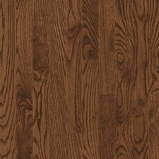 "Dundee 2-1/4"" Solid Red / White Oak Hardwood Flooring in Saddle"