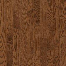 """Manchester 3-1/4"""" Solid Red Oak Hardwood Flooring in Saddle"""