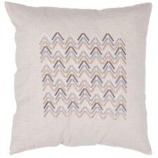 Landscape Contemporary Tribal Pattern Cotton Pillow