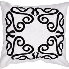Pop Nomad Contemporary Suzani Cotton Throw Pillow