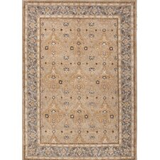 Poeme Taupe/Blue Rug