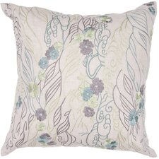 Whisper Contemporary Flax Throw Pillow