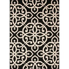 Bloom Black/Taupe Indoor/Outdoor Area Rug