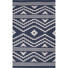 Traditions Blue & Ivory Area Rug