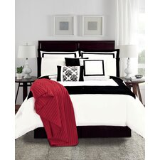 12 Piece Hotel Comforter Set