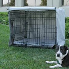 Dog Crate Cover and Pad Set for MidWest Life Stages 2-Door Crate