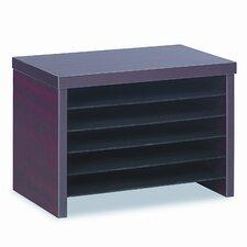 Valencia Series Under-Counter File Organizer Shelf, 16w x 10d x 11h, Mahogany